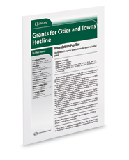 Grants for Cities and Towns Hotline