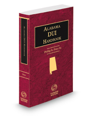 Alabama DUI Handbook, 2015-2016 ed.