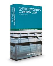 Company LawCharlesworth's Company Law, 18th