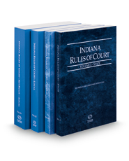 Indiana Rules of Court - State, Federal, Local and Local KeyRules, 2016 ed. (Volumes I-IIIA, Indiana Court Rules)