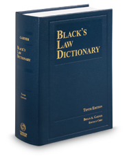 Black's Law Dictionary, 10th