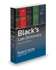 Black's Law Dictionary 10th Abridged