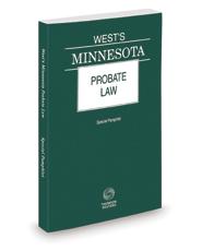 West's Minnesota Probate Law, 2021 ed.