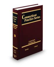 Criminal Law, 2d (Vol. 10, Connecticut Practice Series)