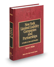 New York Limited Liability Companies and Partnerships: A Guide to Law and Practice (Vol. 1, New York Practice Series)