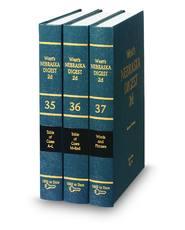 West's® Nebraska Digest, 2d (Key Number Digest®)