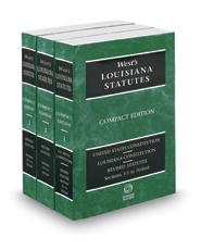 West's® Louisiana Statutes, 2017 Compact ed.