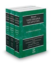 West's® Louisiana Statutes, 2018 Compact ed.