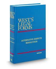 Alternative Dispute Resolution (Vols. 26-26A, West's Legal Forms)