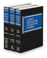 Lane's Goldstein Litigation Forms, 2021 ed.