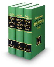 American Jurisprudence Proof of Facts, 3d