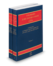 Colorado Jury Instructions, 2016 ed. (Civil)