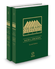 Colorado Corporate Forms, 2d 2016-2017 ed.