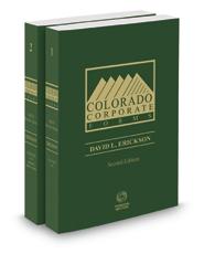 Colorado Corporate Forms, 2d 2017-2018 ed.