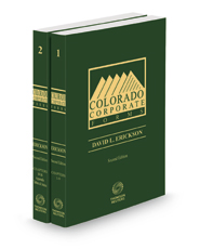 Colorado Corporate Forms, 2d 2020-2021 ed.