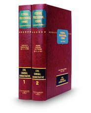 Federal Procedural Forms