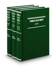 Federal Rules Digest, 3d