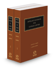 Appellate Handbook for Georgia Lawyers, 2017-2018 ed.