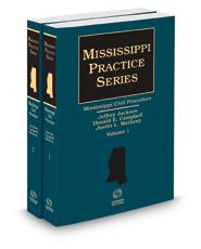 Mississippi Civil Procedure, 2021 ed. (Mississippi Practice Series)