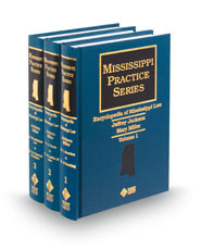 Encyclopedia of Mississippi Law (Mississippi Practice Series)