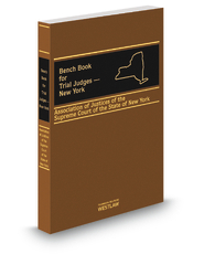 bench book for trial judges new york legal solutions