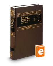 New York Vehicle and Traffic Law, 2d (New York Practice Library)