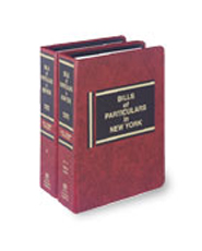 Bills of Particulars in New York, rev. ed.