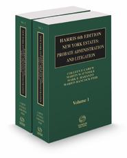 Harris 6th New York Estates: Probate, Administration, and Litigation, 2021 ed.