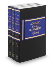 Advising Small Businesses: Forms, 2018-2019 ed.