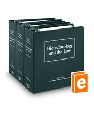 Biotechnology and the Law