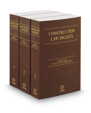 Construction Law Digests, 2018-1 ed.