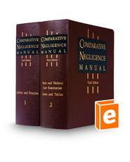 Comparative Negligence Manual, 3d