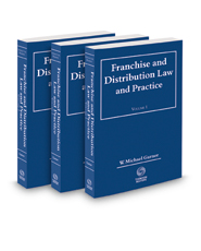 Franchise and  Distribution Law and Practice, 2018-2019 ed.