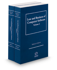 Law and Business of Computer Software, 2d, 2018 ed.