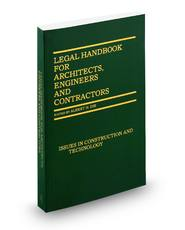 Legal Handbook For Architects, Engineers & Contractors