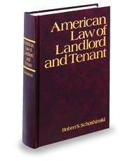 American Law of Landlord and Tenant