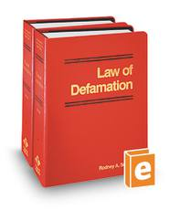 Law of Defamation, 2d