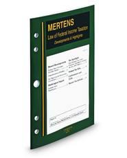 Mertens Current Tax Highlights
