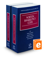 Norton Bankruptcy Code and Rules, 2017–2018 ed.