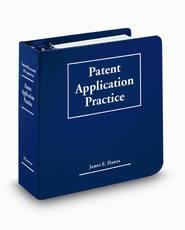Patent Application Practice, 2d