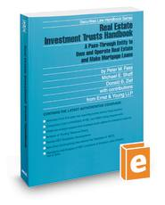 Real Estate Investment Trusts Handbook, 2010-2011 ed. (Securities Law Handbook Series) Donald Zief, Michael Shaff and Peter Fass