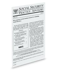 Social Security Practice Advisory