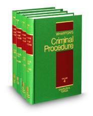 Wharton's Criminal Procedure, 13th