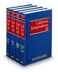 California Jurisprudence, 3d