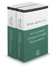 Hanna and Van Atta on California Common Interest Developments, 2016-2017 ed. (The Expert Series)