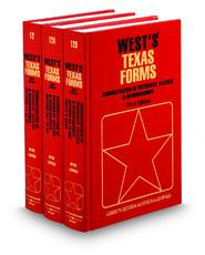 Administration of Decedents' Estates and Guardianships, 3d (Vols. 12, 12A, & 12B, West's® Texas Forms)