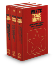 Administration of Decedents' Estates and Guardianships, 4th (Vols. 12, 12A, & 12B, West's® Texas Forms)