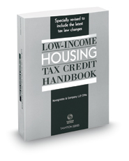 Low-Income Housing Tax Credit Handbook, 2018 ed.