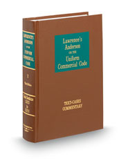 Lawrence's Anderson on the Uniform Commercial Code, 3d