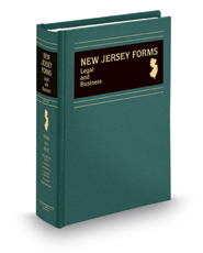 New Jersey Forms: Legal and Business